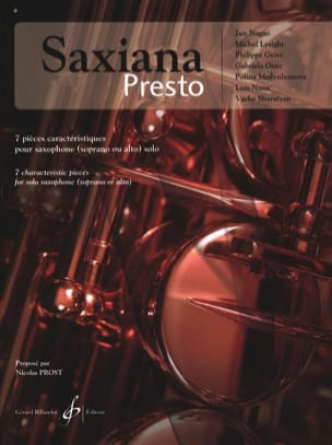 Saxiana Presto - Sheet Music - di-arezzo.co.uk