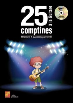 - 25 nursery rhymes with MP3 guitar - Sheet Music - di-arezzo.co.uk