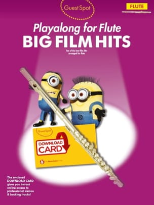 - Guest Spot - Big Movie Hits Playalong For Flute - Sheet Music - di-arezzo.com