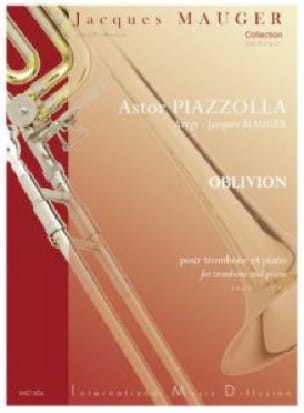 Astor Piazzolla - oblivion - Sheet Music - di-arezzo.co.uk