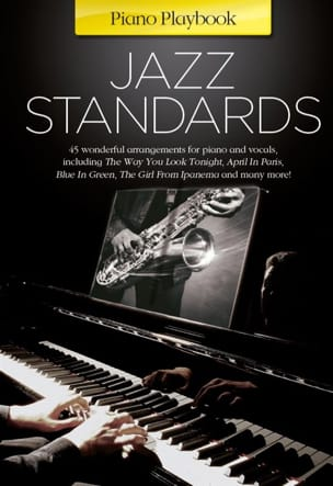 - Piano Playbook - Jazz Standards - Partition - di-arezzo.fr