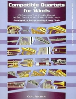 Compatible Quartets For Winds - Partition - laflutedepan.com