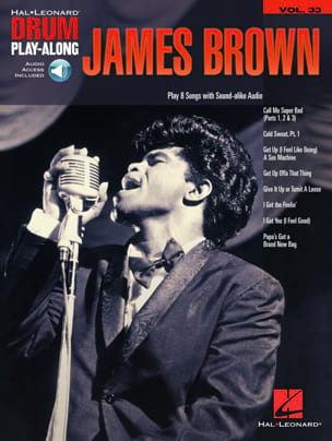 James Brown - Drum Play-Along Volume 33 - James Brown - Sheet Music - di-arezzo.com