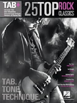 - 25 Top Rock Classics - Tab. Tone. Technical. - Sheet Music - di-arezzo.co.uk