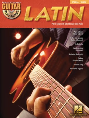 - Guitar Play-Along Volume 105 - Latin - Partition - di-arezzo.fr
