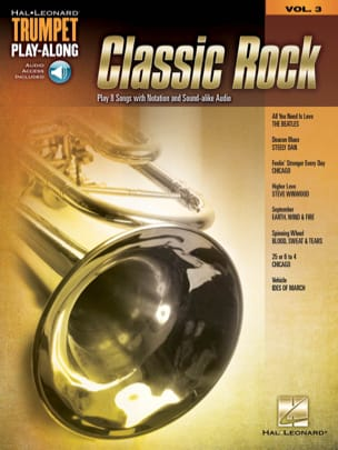 Trumpet Play-Along Volume 3 - Classic Rock - laflutedepan.com