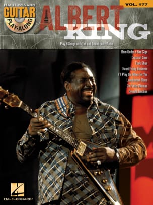 Guitar Play-Along Volume 177 - Albert King - laflutedepan.com