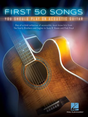 First 50 Songs You Should Play On Acoustic Guitar - Sheet Music - di-arezzo.co.uk