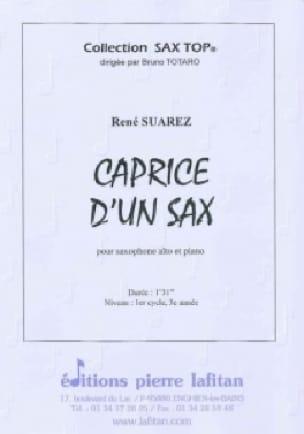 Caprice d'un sax - René Suarez - Partition - laflutedepan.com