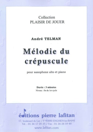 André Telman - Twilight Melody - Sheet Music - di-arezzo.co.uk