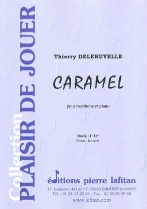 Caramel - Thierry Deleruyelle - Partition - laflutedepan.com