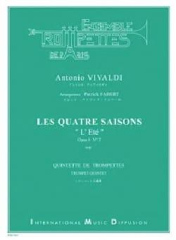 Les 4 Saisons - L'été opus 8 N°2 - Antonio Vivaldi - laflutedepan.com