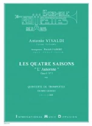 Les 4 Saisons - L'Automne opus 8 N°3 VIVALDI Partition laflutedepan