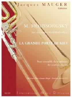Modeste Petrovitch Mussorgsky - The Great Gate of Kiev - Sheet Music - di-arezzo.com