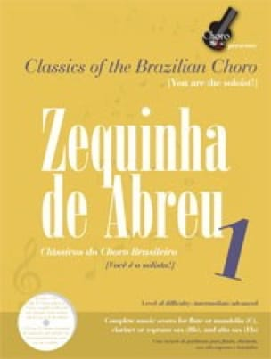 Zequinha Abreu - Classics Of The Brazillian Choro: Zequinha De Abreu 1 - Sheet Music - di-arezzo.co.uk