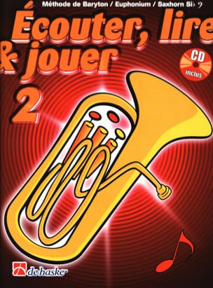 DE HASKE - Play Play and Play - Method Volume 2 - Euphonium - Sheet Music - di-arezzo.co.uk