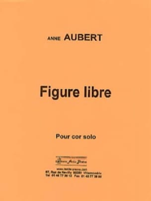 Anne Aubert - Figure libre - Partition - di-arezzo.fr