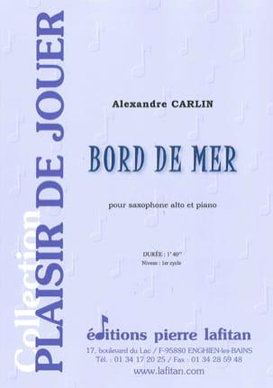 Alexandre Carlin - Bord de mer - Partition - di-arezzo.fr