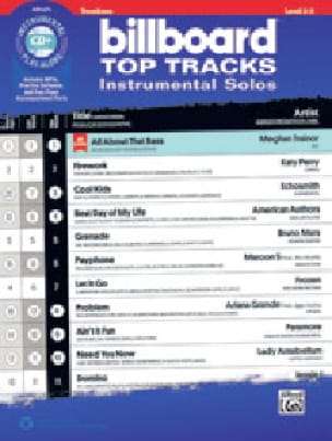 Billboard Top Tracks Instrumental Solos - Partitura - di-arezzo.es