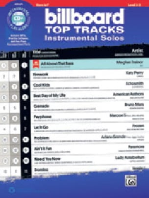 Billboard Top Tracks Instrumental Solos - Partition - di-arezzo.fr