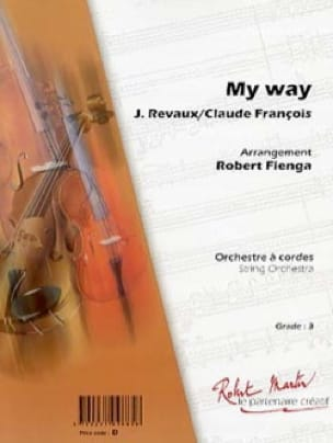 François Claude / Anka Paul - As of Habitude - My Way - Sheet Music - di-arezzo.co.uk