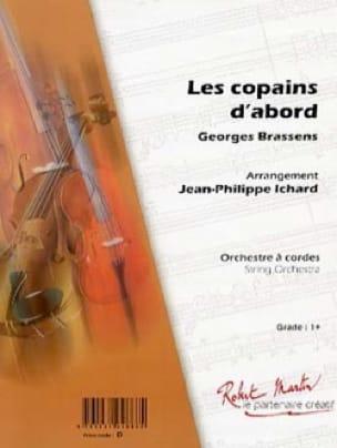 Les Copains d'Abord Georges Brassens Partition laflutedepan
