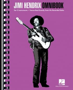 Jimi Hendrix - Jimi Hendrix Omnibook - Partition - di-arezzo.fr