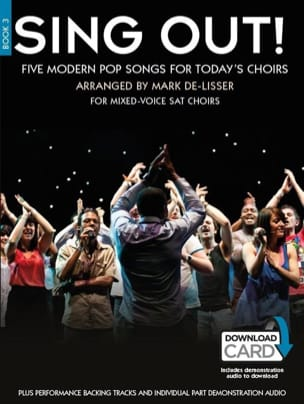 - Sing Out! 5 Pop Songs For Today's Choirs Book 3 - Partition - di-arezzo.fr