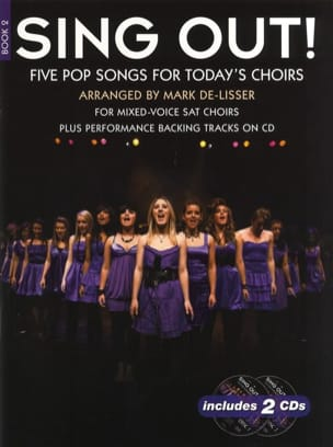 - Sing Out! 5 Pop Songs For Today's Choirs - Book 2 with 2 CDs - Sheet Music - di-arezzo.com