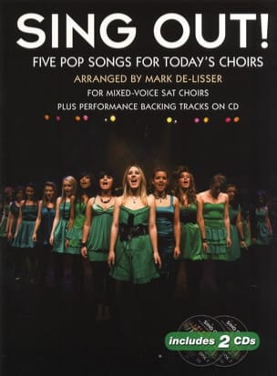 - Sing Out! 5 Pop Songs For Today's Choirs - Partition - di-arezzo.fr