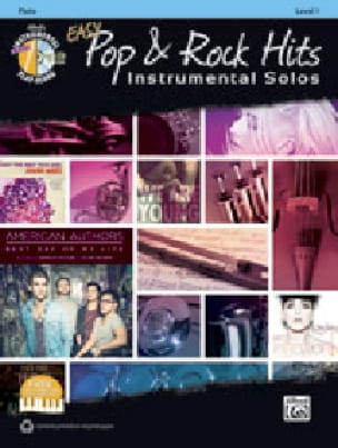 Easy Pop & Rock Hits Instrumental Solos Partition laflutedepan