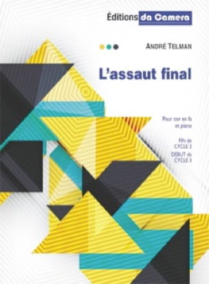 André Telman - A l'assaut final - Partition - di-arezzo.fr