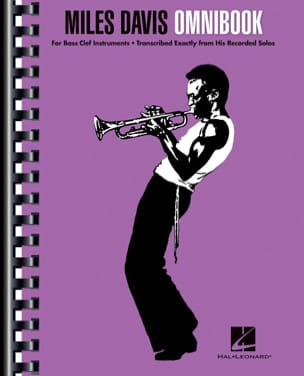 Miles Davis - Miles Davis Omnibook - For Bass Clef Instruments - Sheet Music - di-arezzo.co.uk
