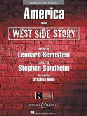 Leonard Bernstein - America from West Side Story - Sheet Music - di-arezzo.co.uk