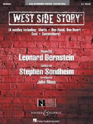 Leonard Bernstein - West Side Story - Medley - Partition - di-arezzo.fr