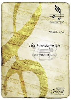 The Funkyman Franck Filosa Partition Batterie - laflutedepan