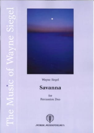 Savanna - Wayne Siegel - Partition - laflutedepan.com