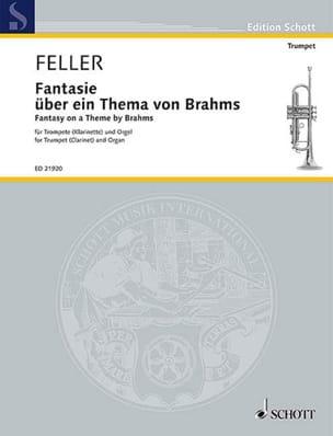 Harald Feller - Fantaisie sur un thème de Brahms - Partition - di-arezzo.fr