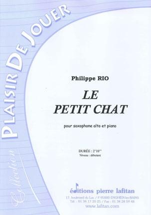 Philippe Rio - Le petit chat - Partition - di-arezzo.fr