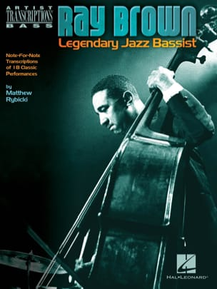 Ray Brown - Ray Brown - legendario bajista de jazz - Partitura - di-arezzo.es