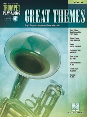 Trumpet Play-Along Volume 4 Great Themes - laflutedepan.com