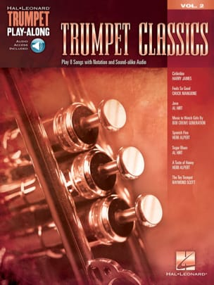 Trumpet Play-Along Volume 2 Trumpet Classics - Partition - di-arezzo.fr