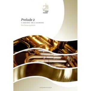 Prelude 2 - George Gershwin - Partition - laflutedepan.com