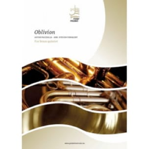 Astor Piazzolla - Oblivion - brass quintet - Partition - di-arezzo.fr