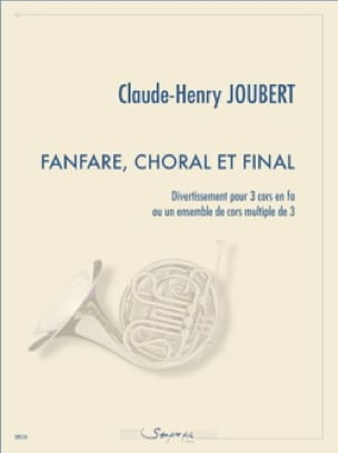 Claude-Henry Joubert - Fanfare, Choral and Final - Sheet Music - di-arezzo.com