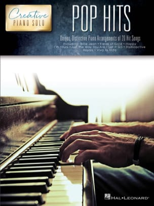- Creative Piano Solo - Pop Hits - Partition - di-arezzo.fr