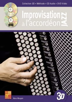 Manu Maugain - Improvisation Jazz with accordion in 3D - Sheet Music - di-arezzo.co.uk