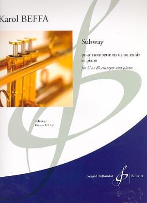 Subway - Karol Beffa - Partition - Trompette - laflutedepan.com