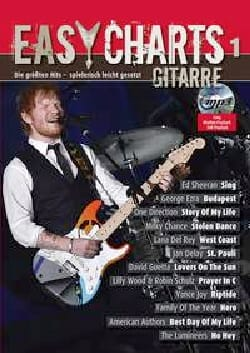 Easy Charts Gitarre - Volume 1 - Partition - laflutedepan.com