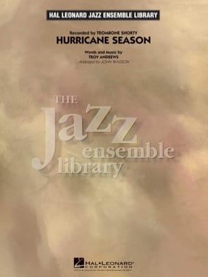 Troy Andrews - Hurricane Season - Partition - di-arezzo.fr